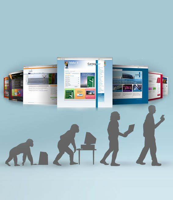 Evolution of Web Design